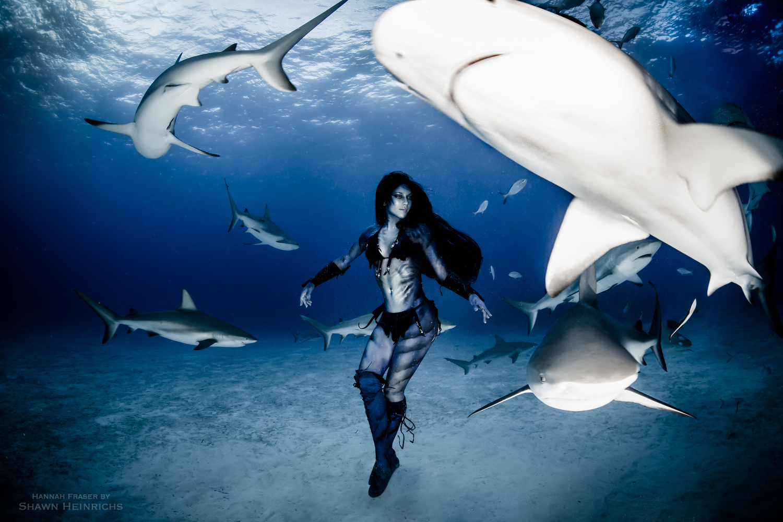 Секс женщин с акулами 17 фотография